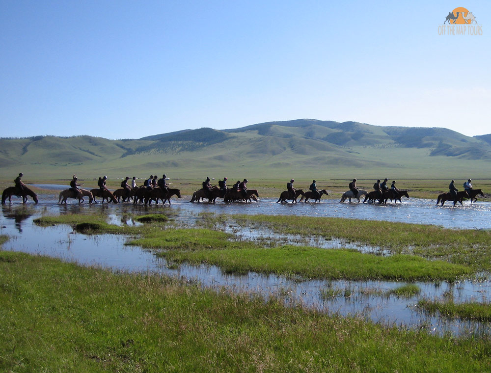Rivers in Mongolia