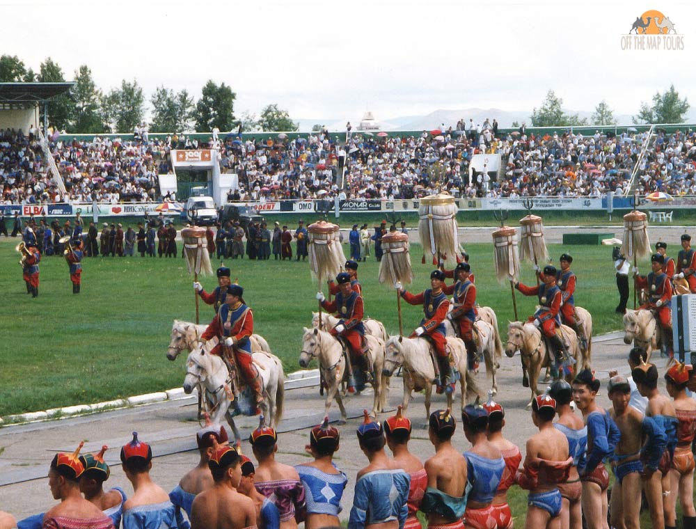 Naadam Festival Opeining Ceremony